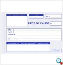 Imprimes | Reçu Caisse - Piece Comptable | Publicom Conseil